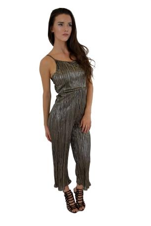 Metallic Culotte Jumpsuit: £20.00