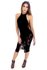 Lace Halterneck W/ Bodysuit Dress: £18.00