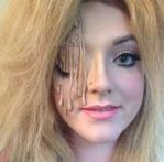 melted-barbie-halloween-makeup-look